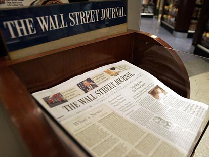iPad в Wall Street Journal